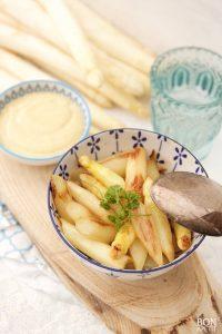 koolhydraatarme asperge recepten uit de wok