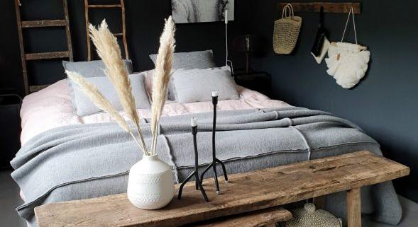 Een slaapkamer net als in een hotel huize dop