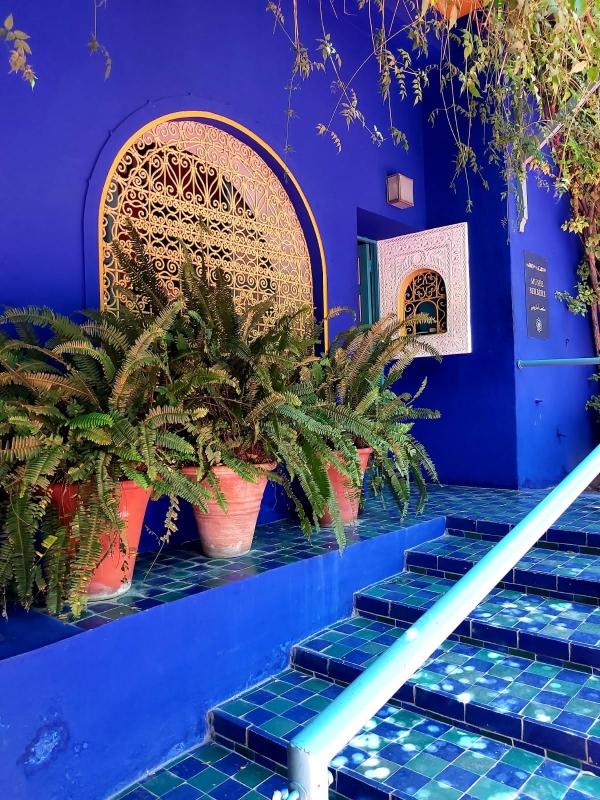 marrakech met tieners gardin majorelle