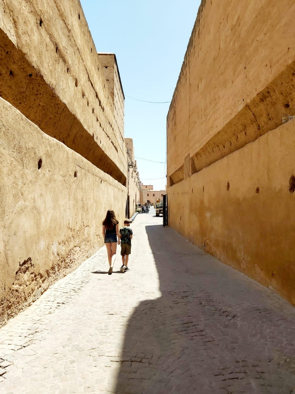 Marrakech met tieners Medina