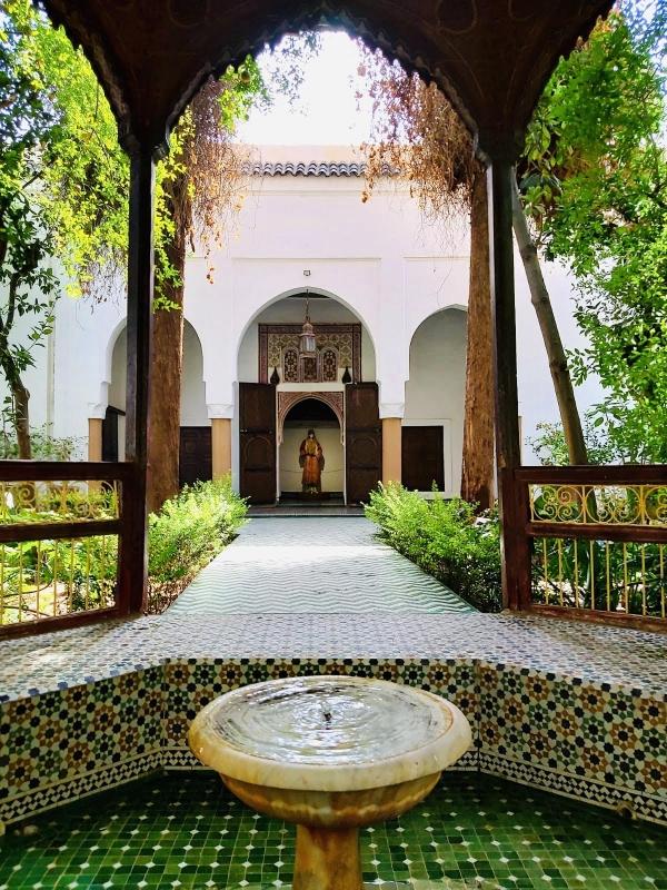 marrakech met tieners museum dar si said