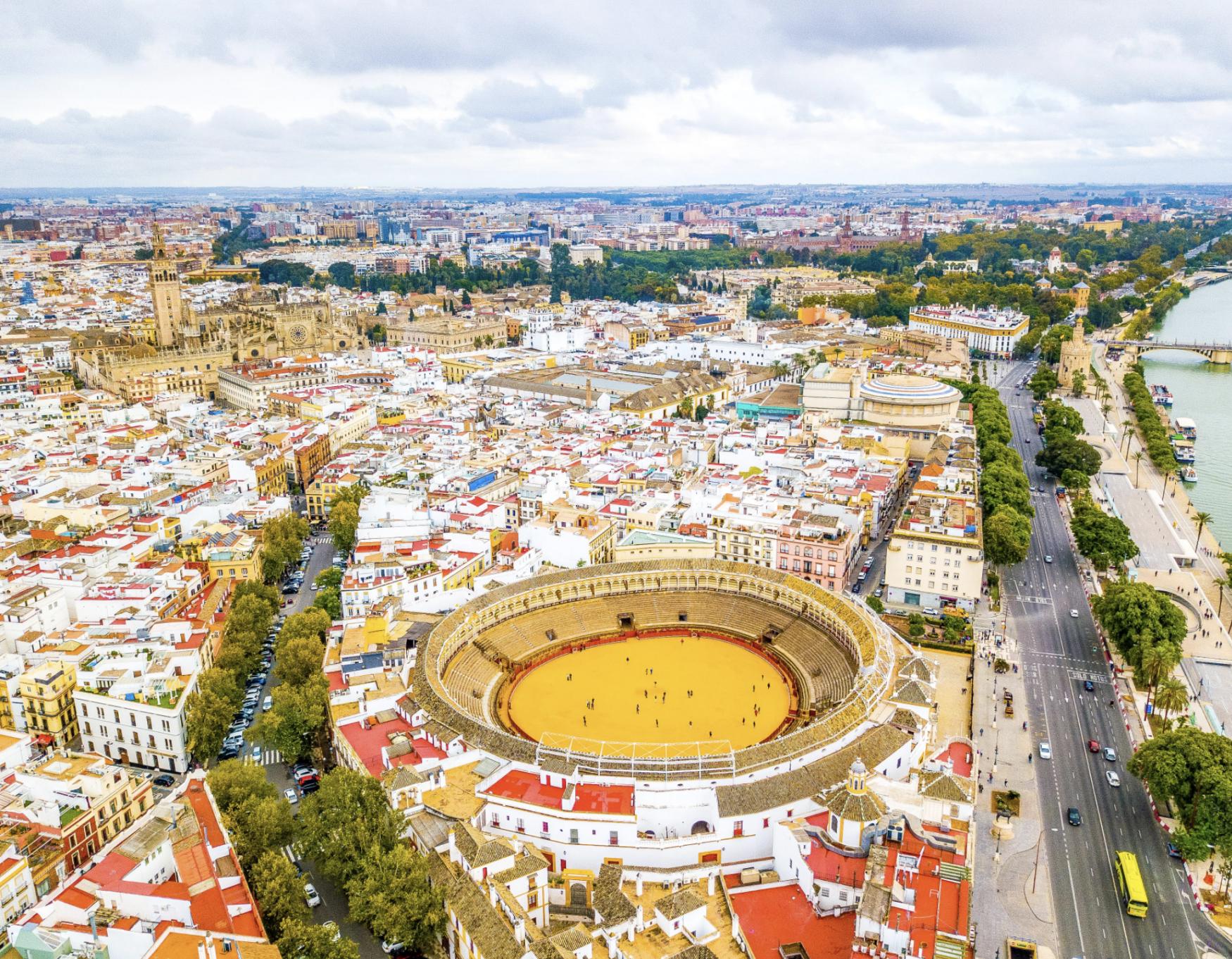 Sevilla met tieners